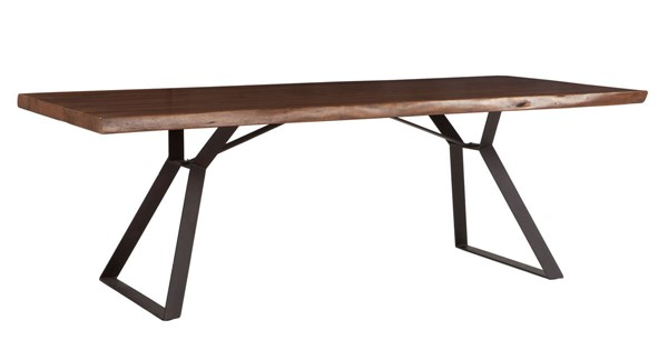 World Interiors Nottingham Brown 94 Inch Dining Table WIF-ZWNTHM9438