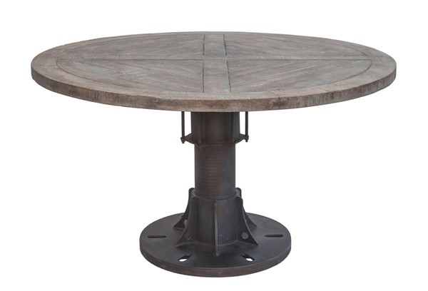 World Interiors Sterling Round Dining Table WIF-ZWOMRD54F