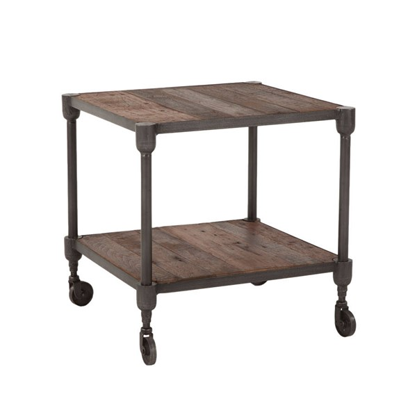 World Interiors Paxton Gray Side Table WIF-ZWPX2234