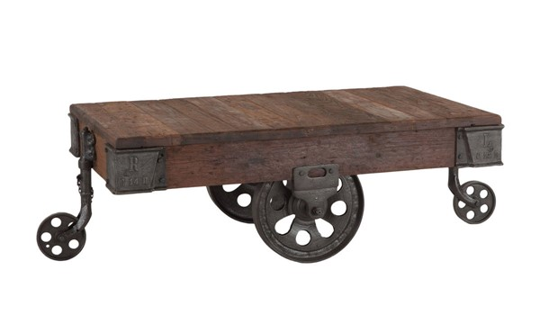 World Interiors Paxton Gray 50 Inch Coffee Table WIF-ZWPX506