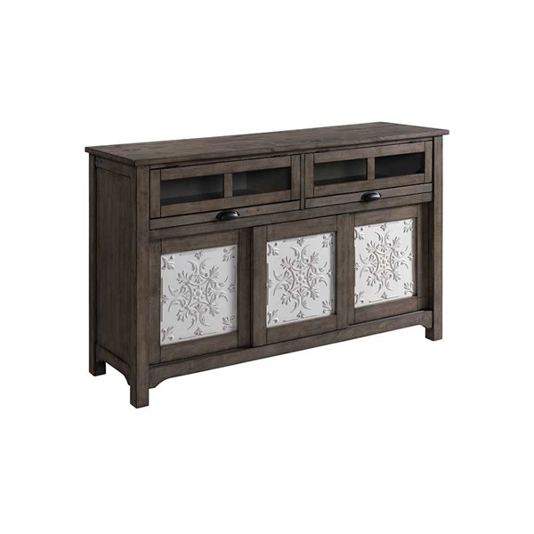 Intercon Belgium Farmhouse Gray Sideboard INT-BF-CA-6218-GRY-C