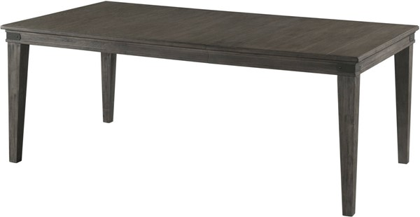 Intercon Foundry Brushed Pewter 18 Leaf Table INT-FR-TA-4278-PEW-C