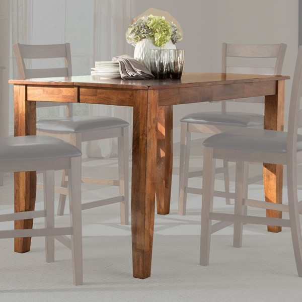 Intercon Kona Brandy Butterfly Gathering Table INT-KA-TA-5454G-BDY-C