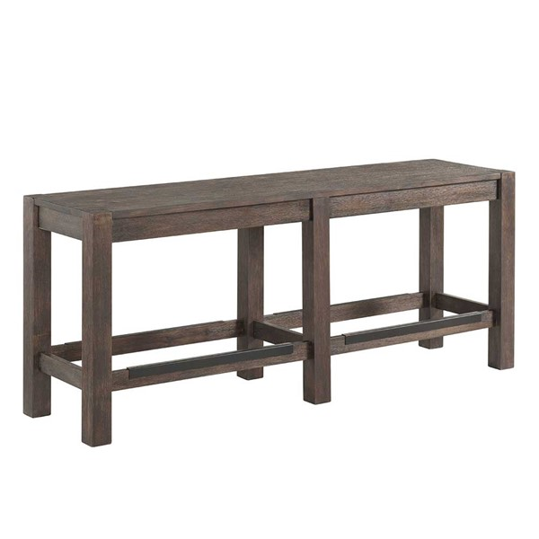 Intercon Salem Brushed Cocoa Backless Counter Height Bench INT-SL-BS-5815G-BCO-K24