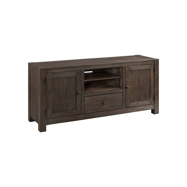 Intercon Salem Brushed Cocoa 60 Media Console INT-SL-HT-6028-BCO-C