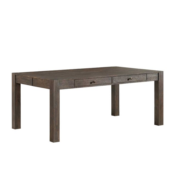 Intercon Salem Brushed Cocoa 4 Drawer Dining Table INT-SL-TA-4272-BCO-C