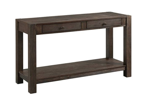 Intercon Salem Brushed Cocoa Sofa Table INT-SL-TA-5018-BCO-C