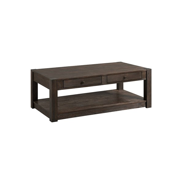 Intercon Salem Brushed Cocoa Coffee Table INT-SL-TA-5028-BCO-C
