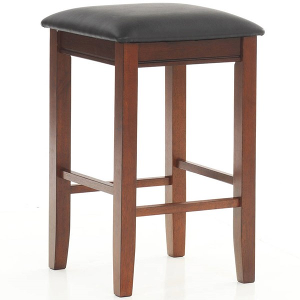 2 Intercon Siena Black Cider Backless Counter Height Stools INT-SN-BS-35L-BCR-K24