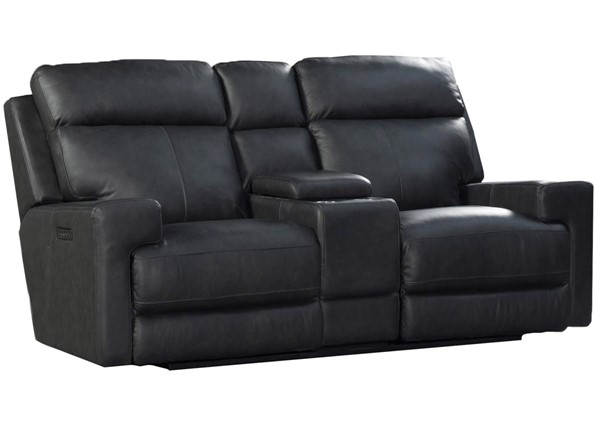Intercon Solana Space Gray Triple Power Loveseat With Lumbar INT-SO-LS-263TPR-SG2-C