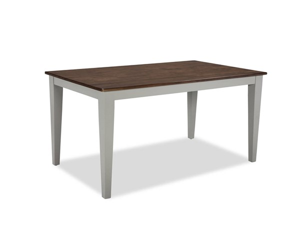 Intercon Small Space Cherry Gray 60 Inch Dining Table INT-SS-TA-3660-CYG-C