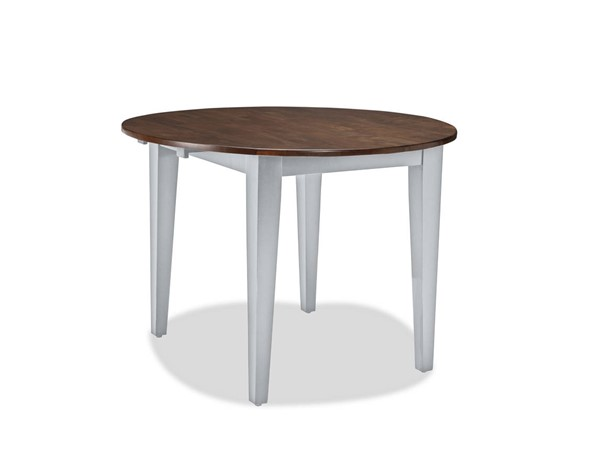 Intercon Small Space Cherry Gray 42 Drop Leaf Table INT-SS-TA-42D-CYG-C