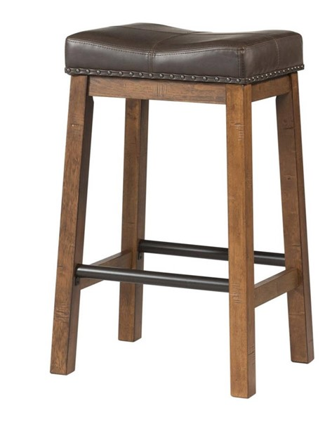 2 Intercon Taos Canyon Brown Counter Height Stools INT-TS-BS-35C-CYB-K24