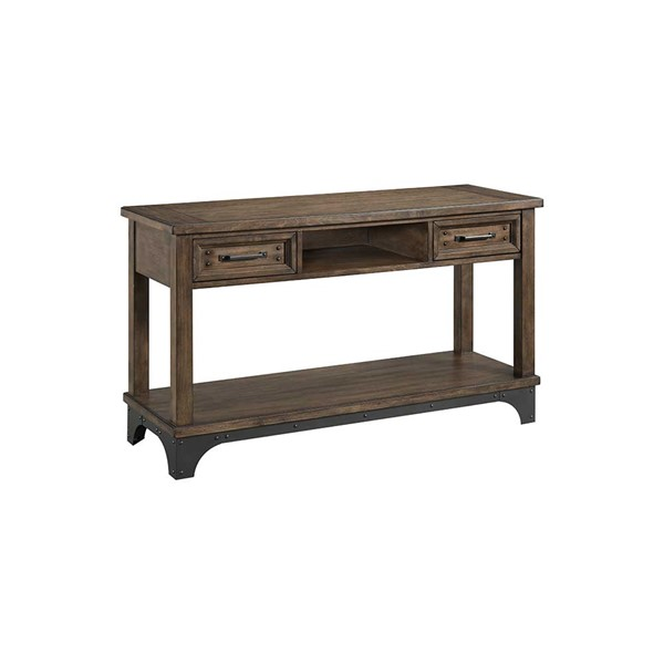 Intercon Whiskey River Gray Sofa Table INT-WY-TA-5018-GPG-C