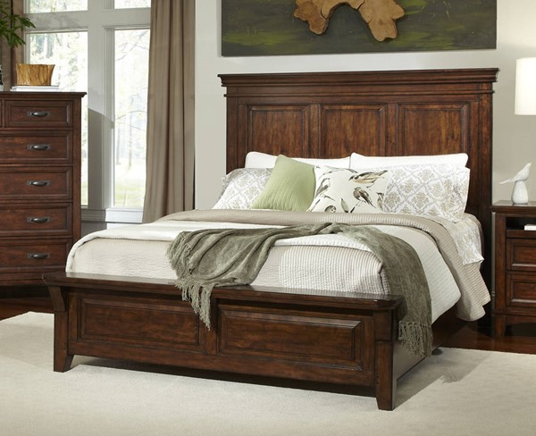 Intercon Star Valley Rustic Cherry Beds INT-SR-BR-6260-RCY-BED-VAR
