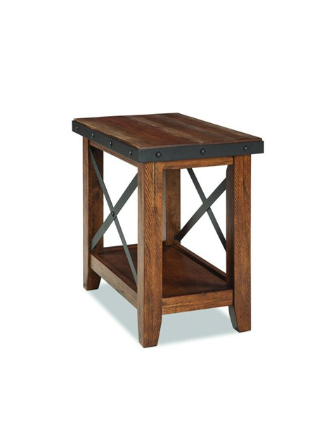 Intercon Taos Canyon Brown Chairside Table INT-TS-TA-1626-CYB-C