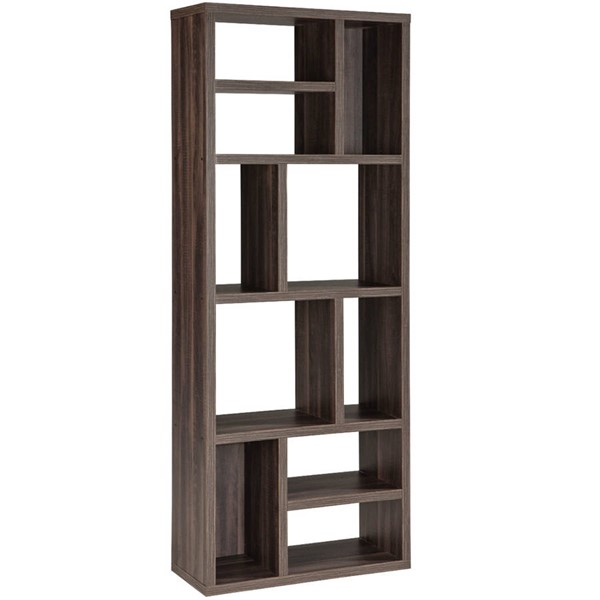 Intercon Lifestyles Studio Living Weathered Gray Wall Shelf Unit INT-LI-HT-2872-DWG-C