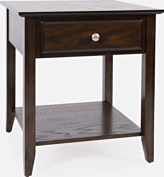 Jofran Furniture Carlton Espresso End Tables JFN-1037-ET-V