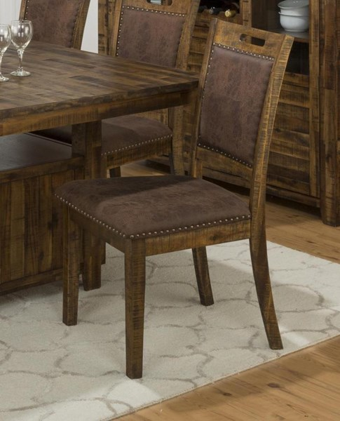 2 Cannon Valley Contemporary Solid Wood Upholstered Back Dining Chairs JFN-1511-380KD