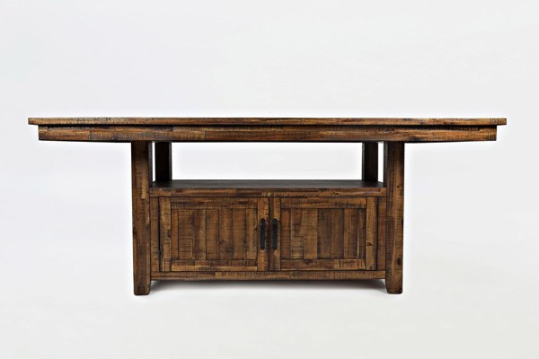 Cannon Valley Contemporary Solid Wood Storage Base Dining Table JFN-1511-72