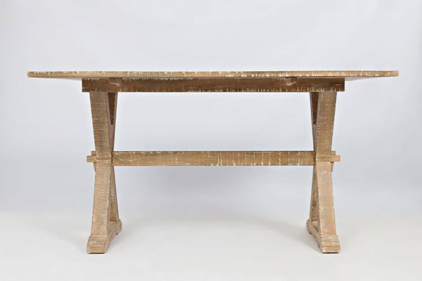 Pacific Heights Transitional Bisque Solid Wood Dropleaf Sofa Table JFN-1591-4
