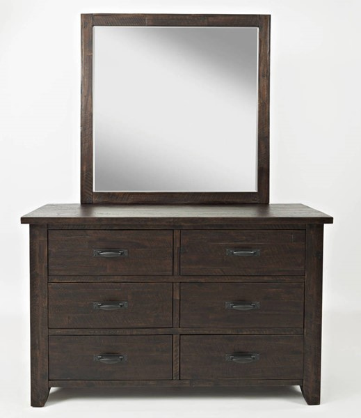 Jofran Furniture Jackson Lodge Youth Dresser and Mirror JFN-1605-DRMR