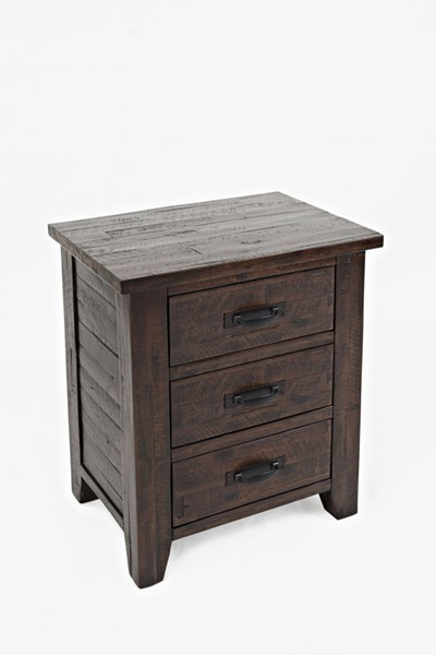Jofran Furniture Jackson Lodge Deep Chocolate Master Night Stand JFN-1605-95