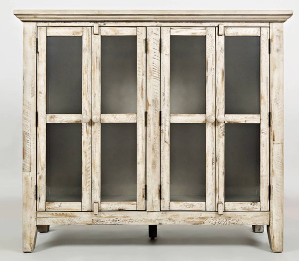 Jofran Furniture Rustic Shores Cream 48 Inch Accent Cabinet JFN-1610-48