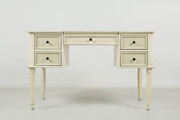 Avignon Youth Rustic Ivory Flip Top Drawer Computer Desk JFN-1617-40