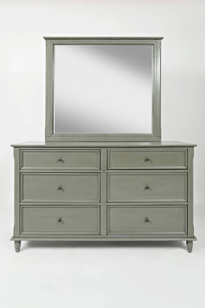 Avignon Youth Grey Dresser & Mirror JFN-1618-DRMR