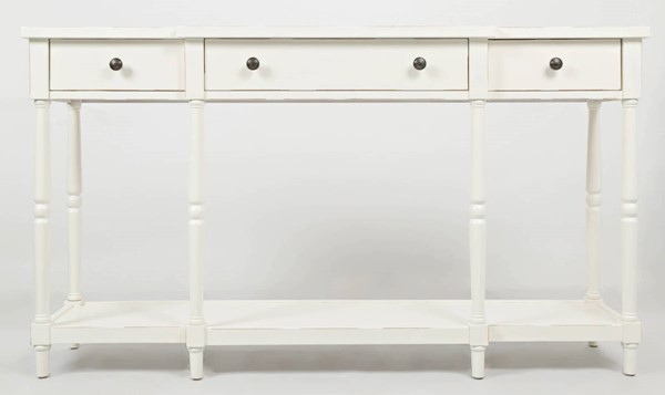 Jofran Furniture Stately Home Antique White 60 Inch Console JFN-1630-60