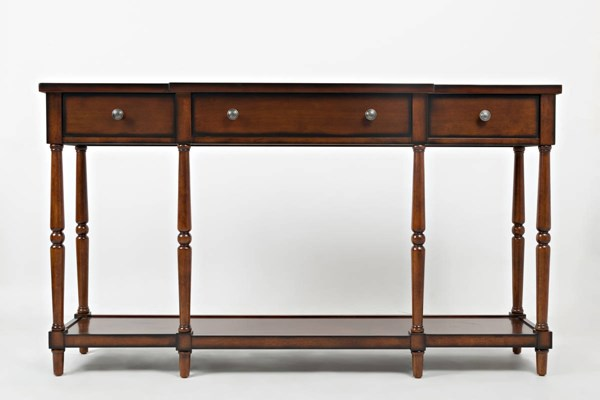 Jofran Furniture Stately Home Antique Mahogany 60 Inch Console JFN-1632-60