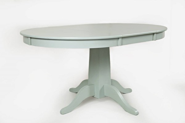 Jofran Furniture Everyday Classics Grey Round To Oval Dining Table JFN-1639-60TBKT