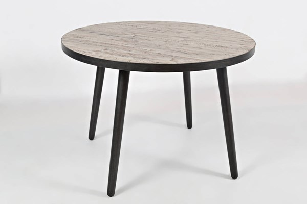 Jofran Furniture American Retrospective Round Dining Table JFN-1641-42TBKT