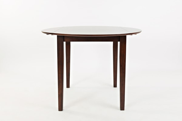 Jofran Furniture Everyday Classics Cherry Round Drop Leaf Dining Table JFN-1659-42