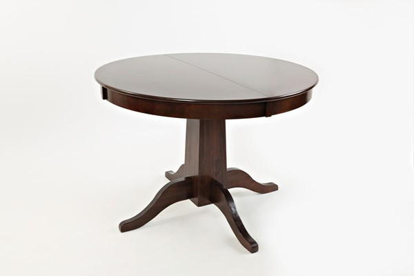Jofran Furniture Everyday Classics Cherry Round To Oval Dining Table JFN-1659-60TBKT