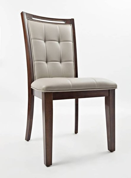 2 Manchester Wood Upholstered Dining Chairs JFN-1672-385KD