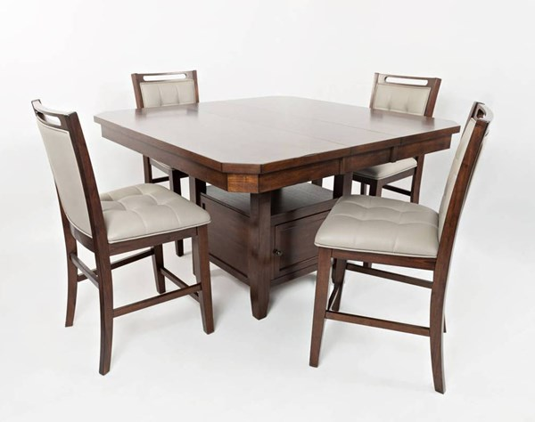 Manchester Wood 5pc Dining Room Set JFN-1672-54-385KD