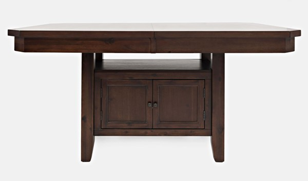 Jofran Furniture Manchester Warm High and Low Rectangle Dining Table JFN-1672-78TBKT
