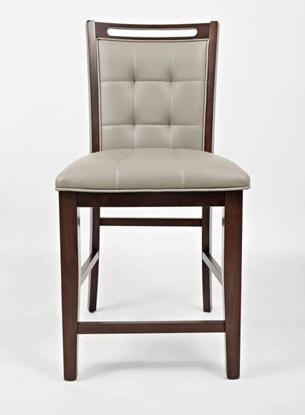 2 Manchester Wood Upholstered Counter Stools JFN-1672-BS385KD