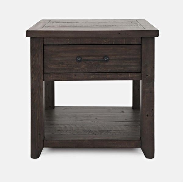 Jofran Furniture Madison County Harris Barnwood End Table JFN-1700-13