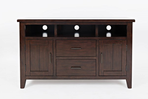 Jofran Furniture Dover Point Cherry 50 Inch Media Console JFN-1714-50