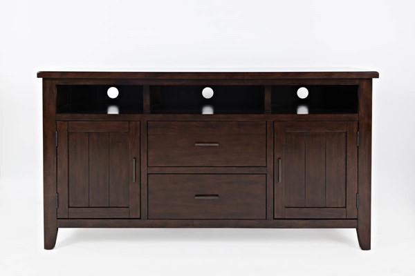 Jofran Furniture Dover Point Cherry 60 Inch Media Console JFN-1714-60