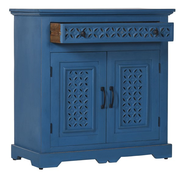 Jofran Furniture Decker Blue 32 Inch Console JFN-1730-1732BLU