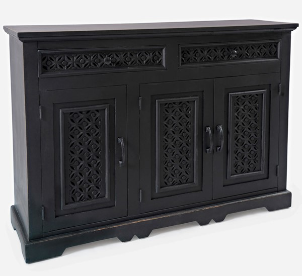 Jofran Furniture Decker Antique Black 36 Inch Console JFN-1730-1748AB