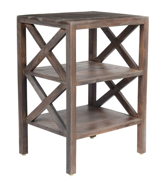 Jofran Furniture Global Archive Slate X Side Accent Table JFN-1730-33
