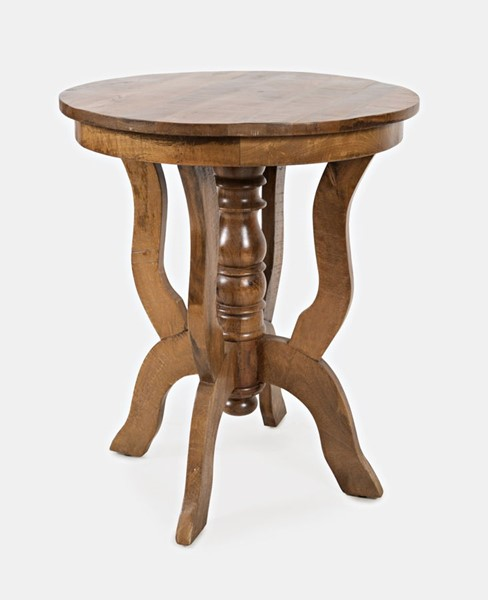 Jofran Furniture Global Archives Brown Round Accent Table JFN-1730-44
