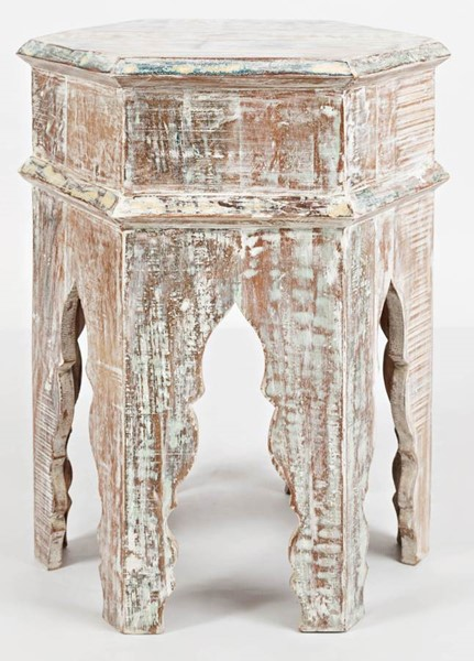 Jofran Furniture Global Archive Distressed Accent Table JFN-1730-52