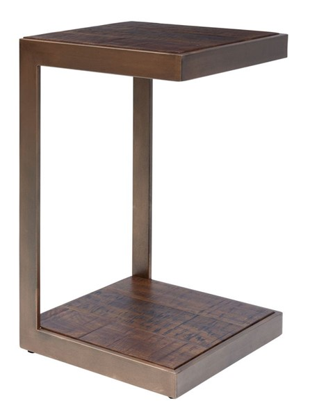 Jofran Furniture Global Archive Burnished Copper C Table JFN-1730-90BC