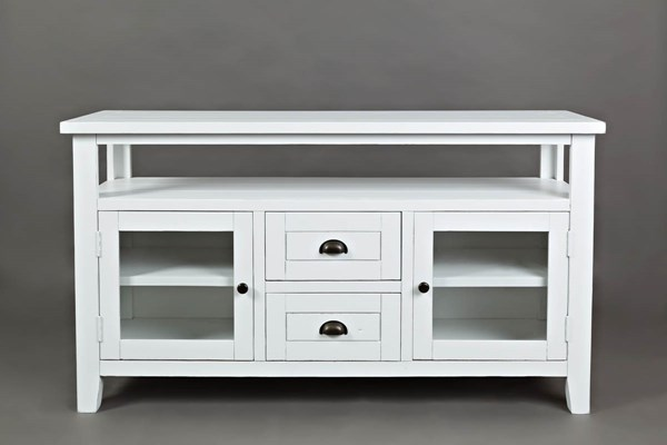Jofran Furniture Artisans Craft Weathered White Storage Console JFN-1744-54